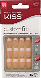 Kiss Products, Inc. Customfit French 36 Piece Nail Kit, Made to order