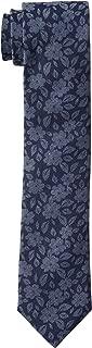 Men's Oxford Floral Print Skinny Tie