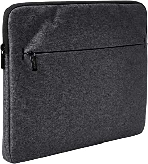 AmazonBasics Tablet Laptop Sleeve Case with Front Pocket, 13 Inch, Grey
