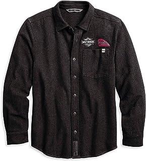 Men's Multi-Patch Button-Down Shirt