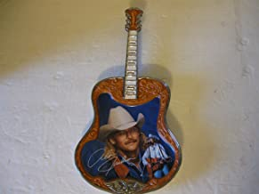 Alan Jackson Guitar Collector Plate Chatahoochee Limited Edition Bradford Exchange Fourth Issue in Alan Jackson Country Legend Series