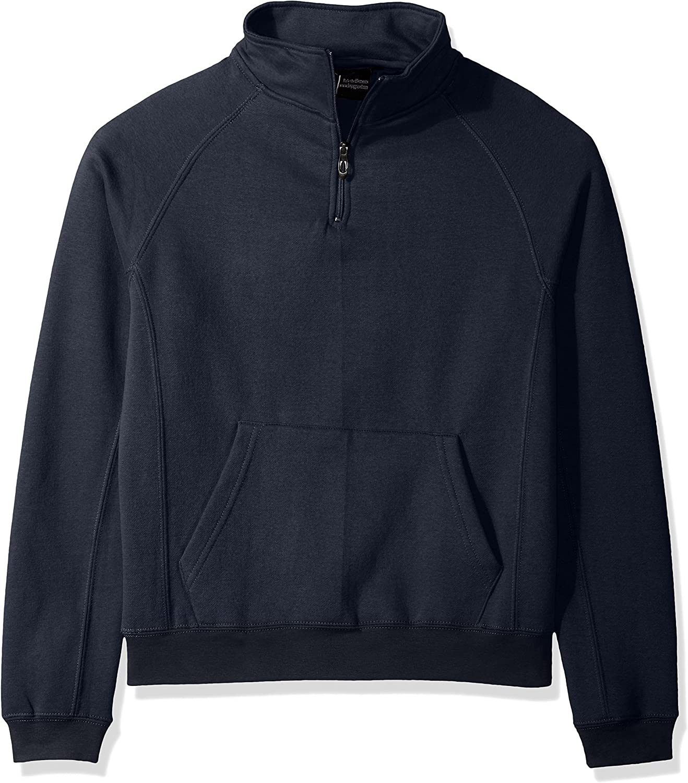 Polar King Men's Quarter Zip Pull Over Sweatshirt