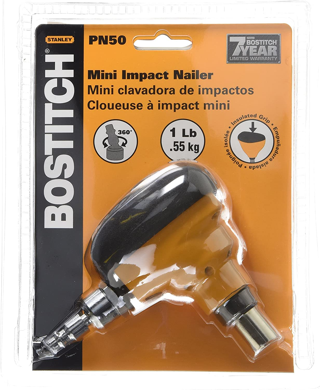 BOSTITCH PN50 Mini Impact Nailer (Renewed) - -