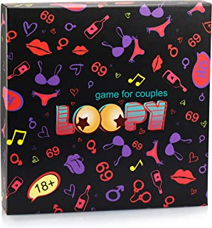 Game for Couples LOOPY - Date Night Box - Best of Couples Games and Couples Gifts - Improves Communication and Relationships