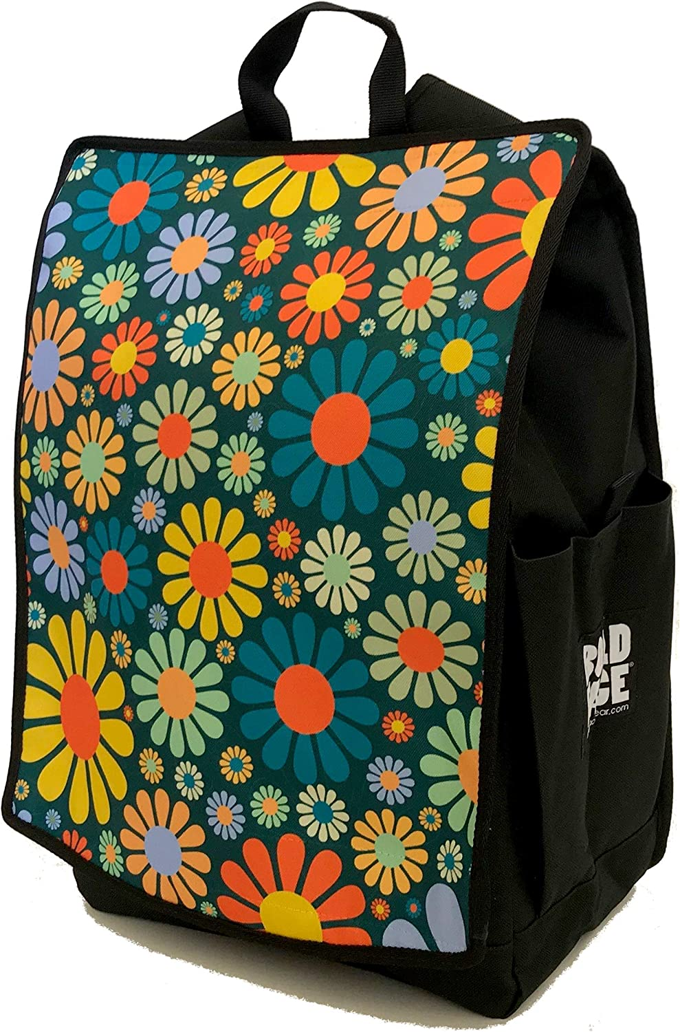 Groovy 60s Flower Power Backpack by BOLDFACE