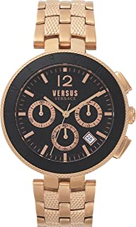 Versus by Versace Men's Analogue Quartz Watch with Stainless Steel Strap VSP762618