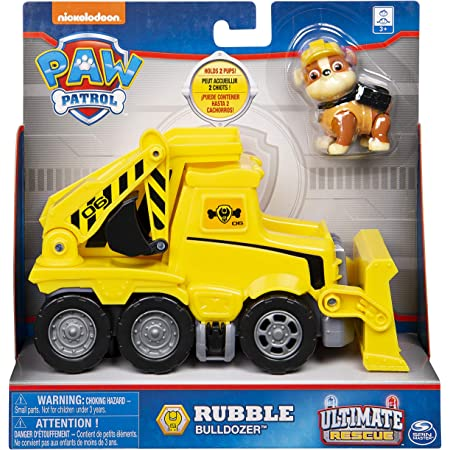 Paw Patrol Value Basic Vehicle - Rubble, Action Figure, Toys for 3+