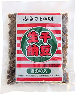 茨城名産 いばらきほし納豆 生干納豆 180g 青のり入