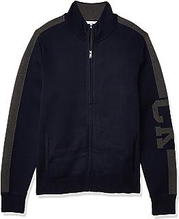 Men's Supima Cotton Zip-up Sweater