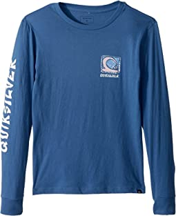 Quiksilver Kids - Dens Way Long Sleeve Top (Big Kids)