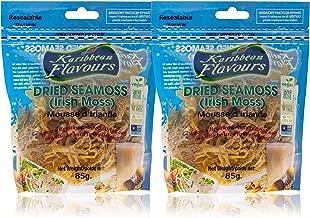 Premium Irish Moss Superfood (2 Pack) 2 x 3 Ounce - Wildcrafted - Non GMO - Vegan - Raw