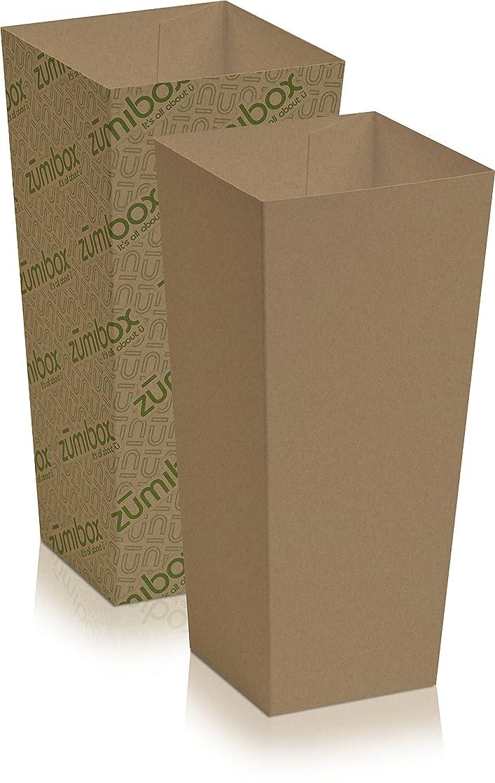 DIY Customizable Kraft Popcorn Box Favor Box