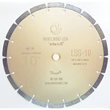 10 Inch Dry Or Wet Segmented Saw Blade With 5 8 Inch Arbor For Concrete Brick Amazon Com