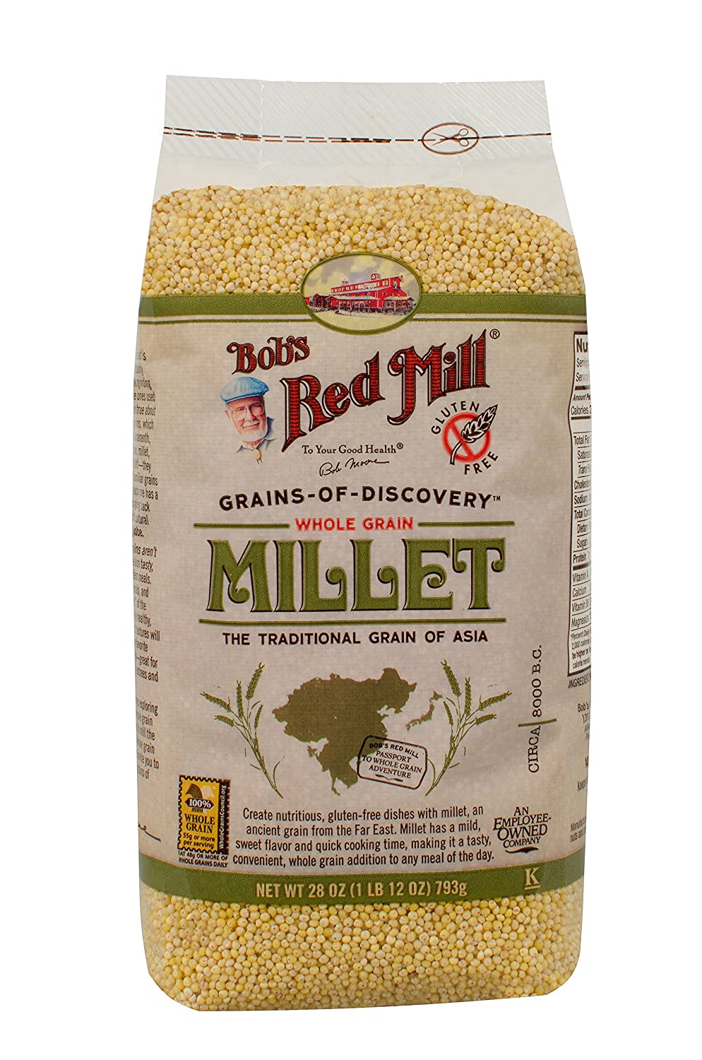supreme Bob's Red Mill Whole Popular products Grain 28-ounce Millet