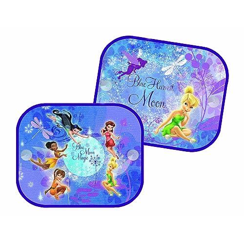 Disney Fairies FE-SAA-010 Lot de 2 pare-soleil 36 x 45 cm