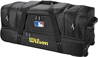 "Wilson Mens Umpire Bag - Black WTA9780BL, Black, 36"" L x 16"" W x 15"" H"