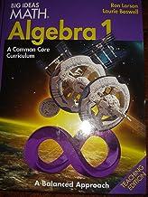 BIG IDEAS MATH Algebra 1: Common Core Teacher Edition 2014
