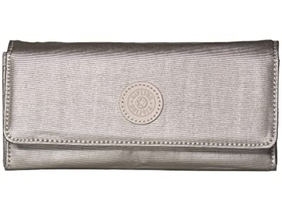 Kipling New Teddi Snap Wallet (Cloud Metal) Handbags