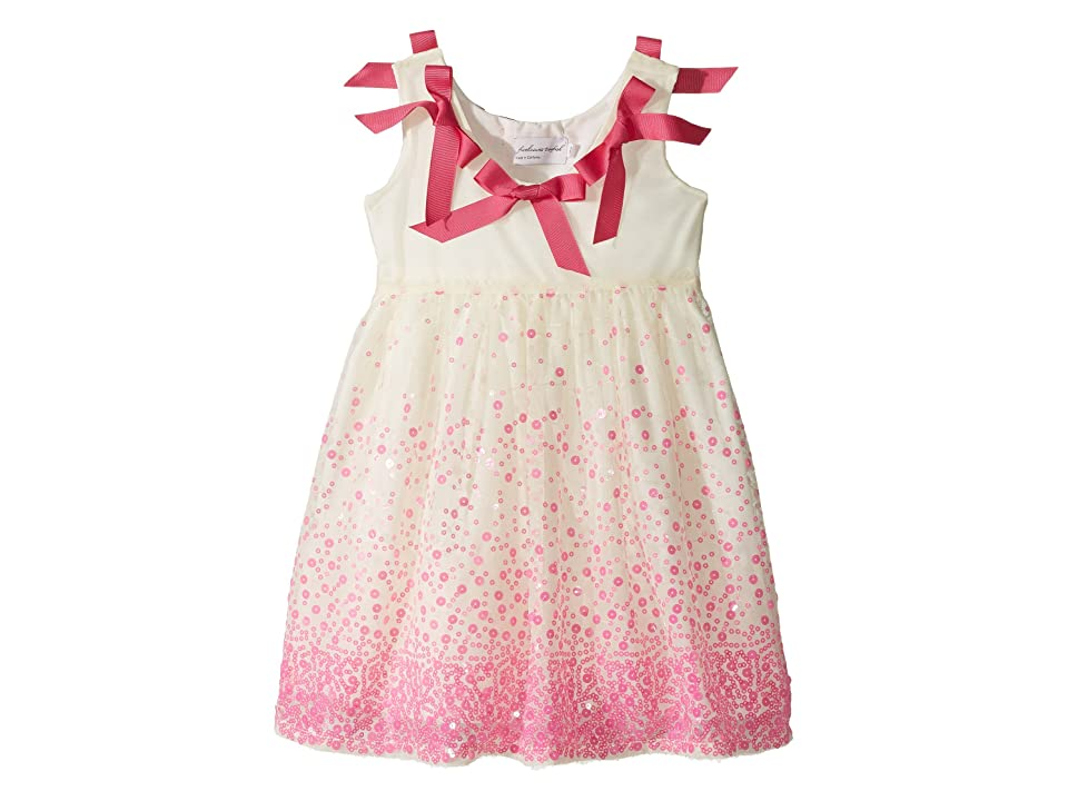 fiveloaves twofish Julie Sequin Dress (Little Kids/Big Kids) (Hot Pink) Girl