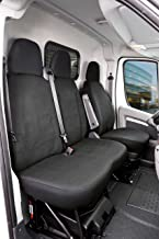 Walser 10537 10537-Funda para Asiento de Coche Transporter Passform, Modelo de Lisboa, Compatible con Fiat Ducato, Poliéster, Einzel- & Doppelbank