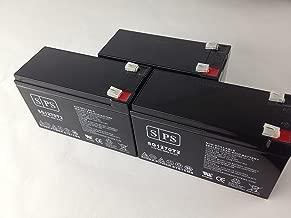 12V 7Ah (From SPS) Liebert UPStation GXT UPS Replacement Battery (3 Pack)