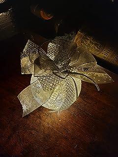 Pallina di Natale dia 10cm / argento, Idea Decorativa per Natale