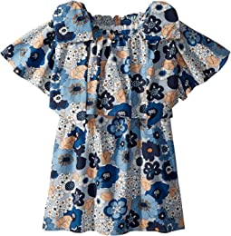Chloe Kids - Mini Me Floral Print Knots Details (Little Kids/Big Kids)