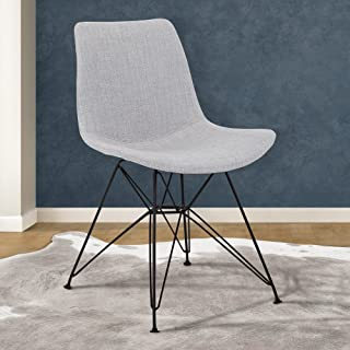 Armen Living Palmetto Dining Chair, Gray