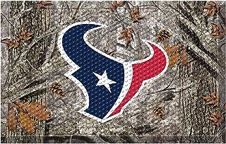 """FANMATS 18961 Team Color 19"""" x 30"""" Houston Texans Sc Mat (NFL Camo)"""