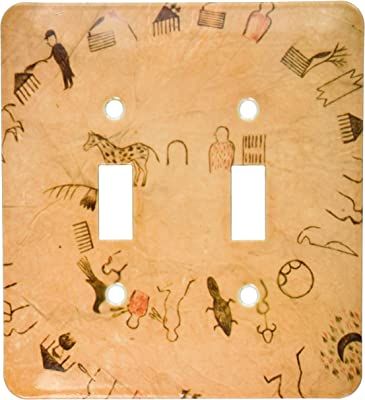 3drose Lsp 94283 2 Lakota Sioux Buffalo Robes Native American Us42 Awy0000 Angel Wynn Double Toggle Switch Switch Plates Amazon Com
