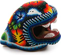 beaded jaguar head