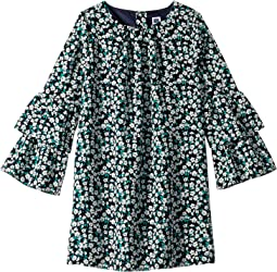 Tiered Bell Sleeve Dress (Toddler/Little Kids/Big Kids)