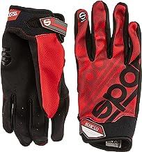Sparco Meca 3 TG 002093RS3L Handschoenen, rood, maat L