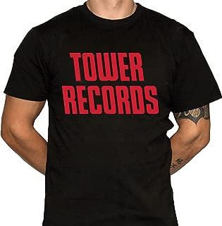 Tower Records Tshirt - Defunct Record Store Logo - Record Store Shirt - Music Memorabilia