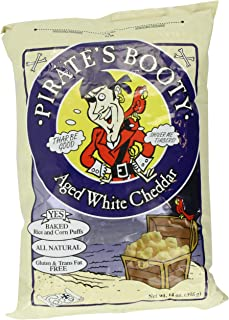 Pirates Booty Aged Cheddar, White, 14 Ounce