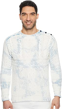 Cotton Fisherman Long Sleeve Sweater