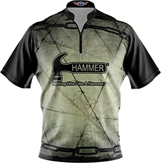 Logo Infusion Bowling Dye-Sublimated Jersey (Sash Collar) - Hammer Style 0355 - Sizes S-4XL