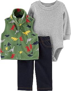 3-pc. Little Vest Set Baby Boys