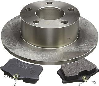 MAPCO 47864 Bremsensatz Bremsscheiben und Bremsbeläge Hinterachse