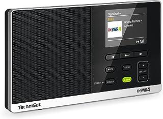 TechniSat Digitale radio 215 SWR4 Edition - draagbare DAB-radio (DAB+, FM, kleurendisplay, SWR4-directe keuzeknop, wekker,...