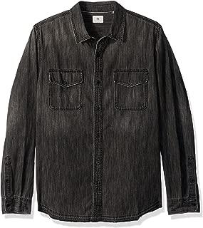Men's Benning Long Sleeve Denim Shirt Let Down Hem