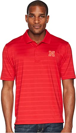 Nebraska Cornhuskers Textured Solid Polo