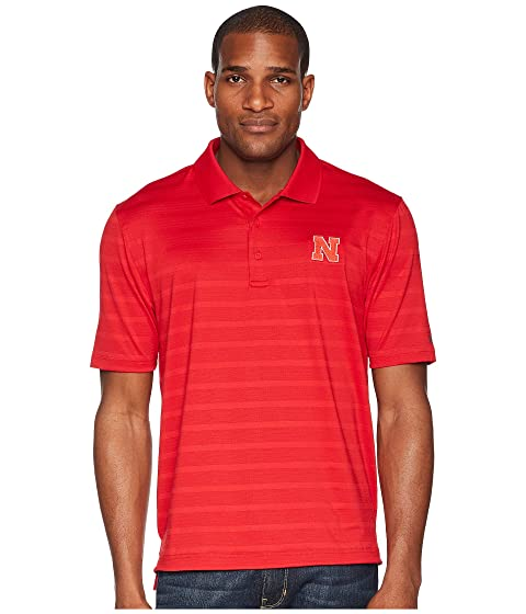 Textured Scarlet Nebraska College Champion Cornhuskers Polo Solid Wtn6c
