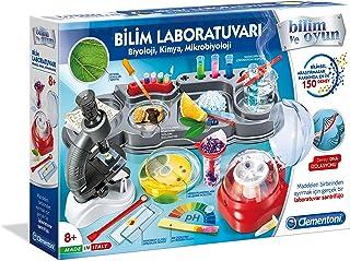 Clementoni - 64311 - Bilim Laboratuvarı - Biyoloji, Kimya, Mikrobiyoloji