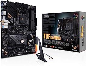 ASUS TUF Gaming B550-PLUS WiFi AMD AM4 Zen 3 Ryzen 5000 & 3rd Gen Ryzen ATX Gaming Motherboard (PCIe 4.0, WiFi 6, 2.5Gb LA...