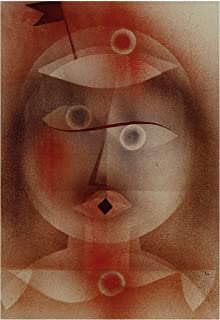 Music Poster Paul Klee - The mask with The Flag 1925 Print 60x91.5cm
