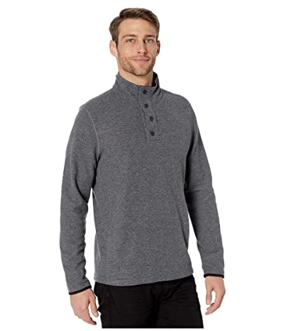 Prana Leonidas Long Sleeve Henley Sweater (Gravel) Men