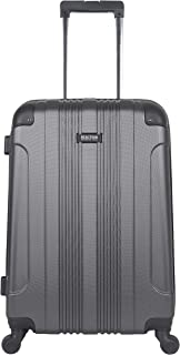 """Kenneth Cole Reaction Out Of Bounds 24"""" Hardside 4-Wheel Spinner Lightweight Checked Luggage, Charcoal"""