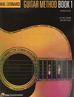 Hal Leonard Guitar Method Book 1: Book Only (GUITARE)