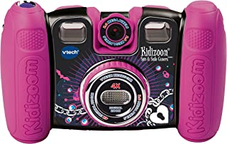 VTech Kidizoom Spin and Smile Camera, Violet Pink
